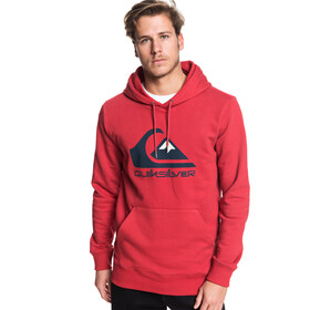Quiksilver Omni Logo Screen Fleece Hoodie Heren, garnet